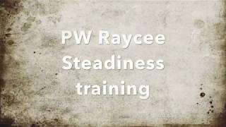 Prairie Wind GSPs,  Raycee Steadiness Training 7 18