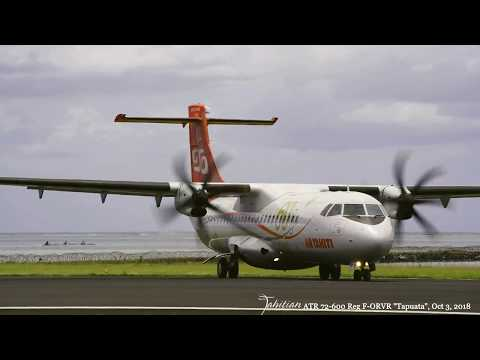 Flight Air Tahiti 925, on departure October 3rd, 2018