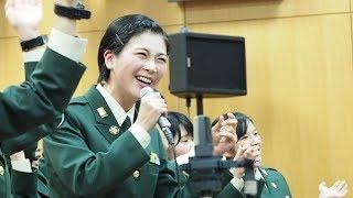 【女性自衛官】I will follow him(映画「天使にラブソングを」) -陸上自衛隊中央音楽隊 教育科学生