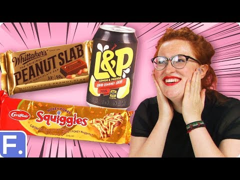 Irish People Taste Test New Zealand Snacks