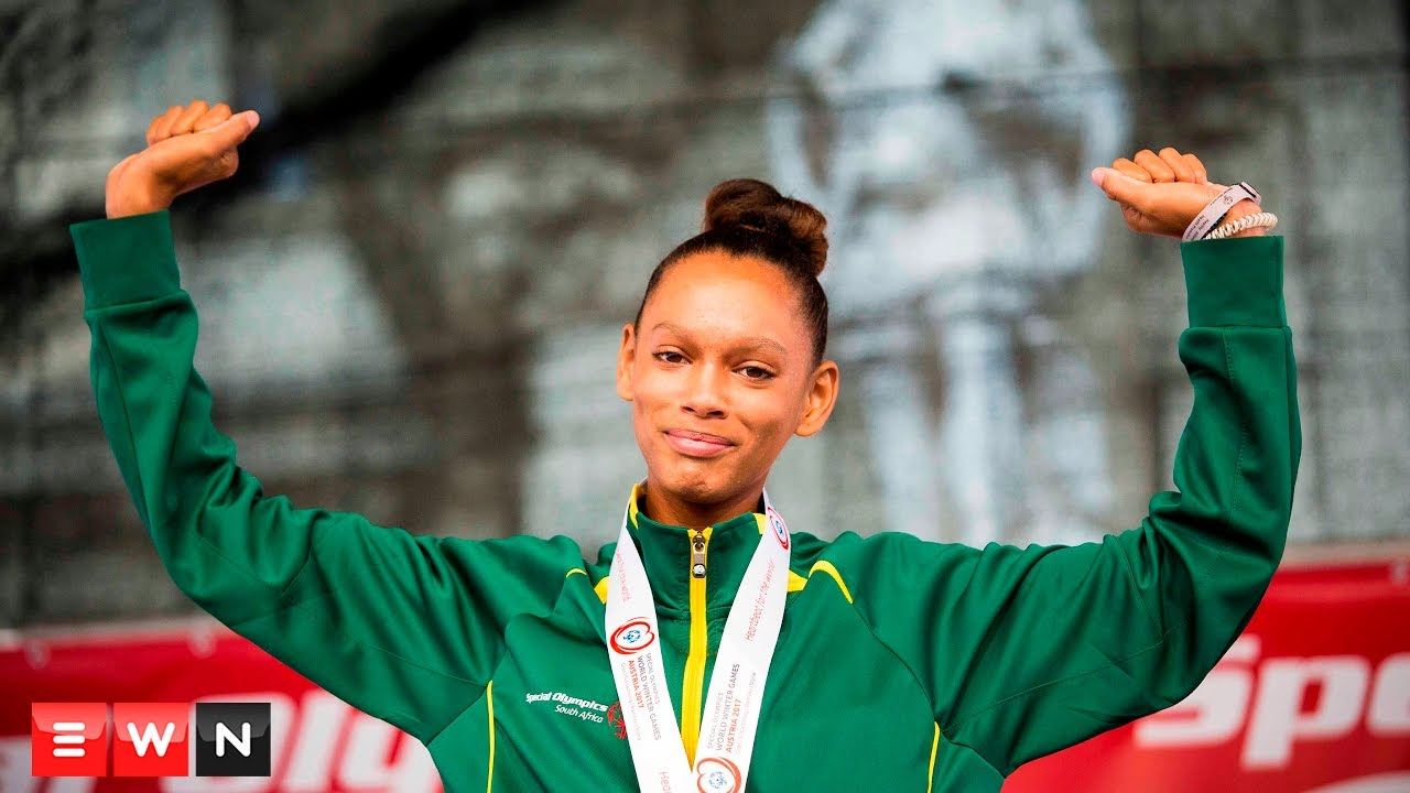South Africa takes gold, silver and two bronze at Special Olympics.
