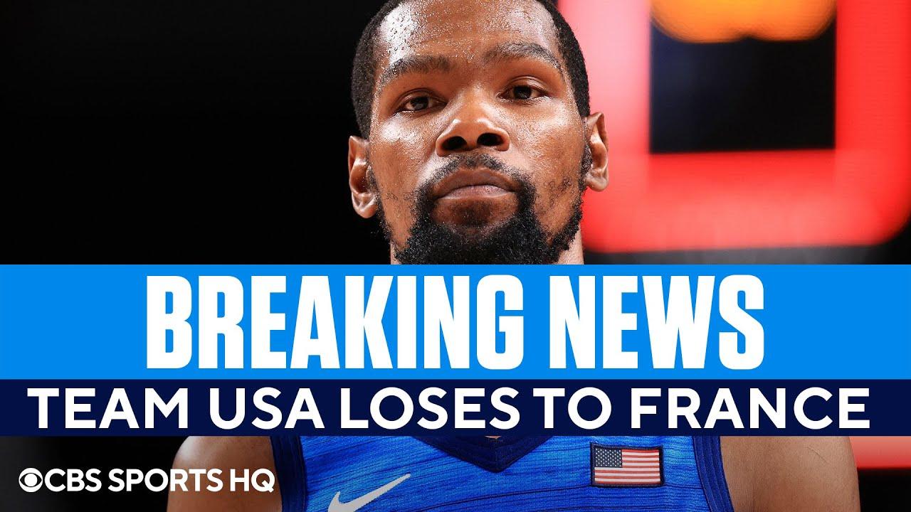 Team USA basketball vs. France score, Tokyo Olympics: U.S. ...