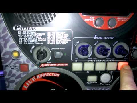 Test für Ebay : Groove Box YAMAHA DJX - IIB