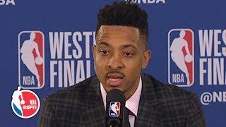 The Blazers' '3rd quarter was a killer once again' - CJ McCollum on Game 3 | 2019 NBA Playoffs