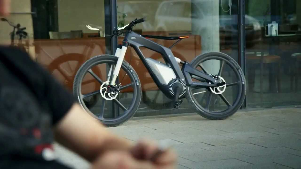 Audi E Bike Official A Bicycle That Runs At 80 Kmph Hd Youtube