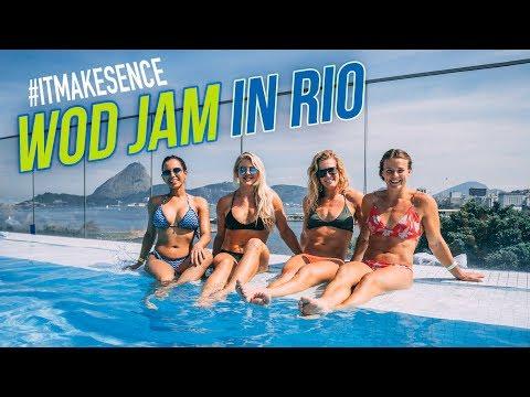 Brooke Ence - WOD JAM in RIO