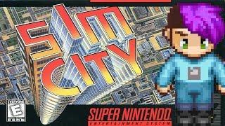SimCity (SNES) - The Classic Nerd