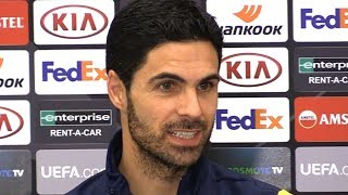 Mikel Arteta & Sokratis FULL Pre-Match Press Conference - Olympiacos v Arsenal - Europa League