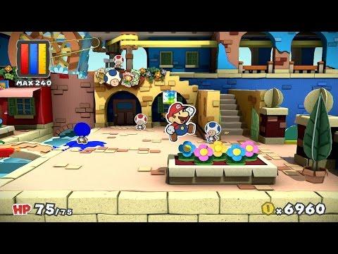 Paper Mario: Color Splash: Quick Look