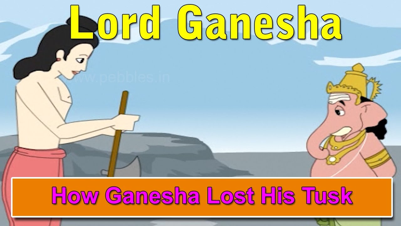 How Ganesha Lost His Tusk Lord Ganesha Stories In English