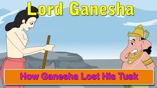 How Ganesha Lost His Tusk | Lord Ganesha Stories in English | Shree Ganesh Stories