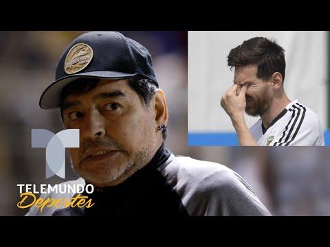 ¿Maradona perdió el juicio? Dice que Dorados es mejor que ¡Argentina | Telemundo Deportes