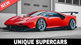 Top 10 Unique Supercars Created by the World's Best Design Experts