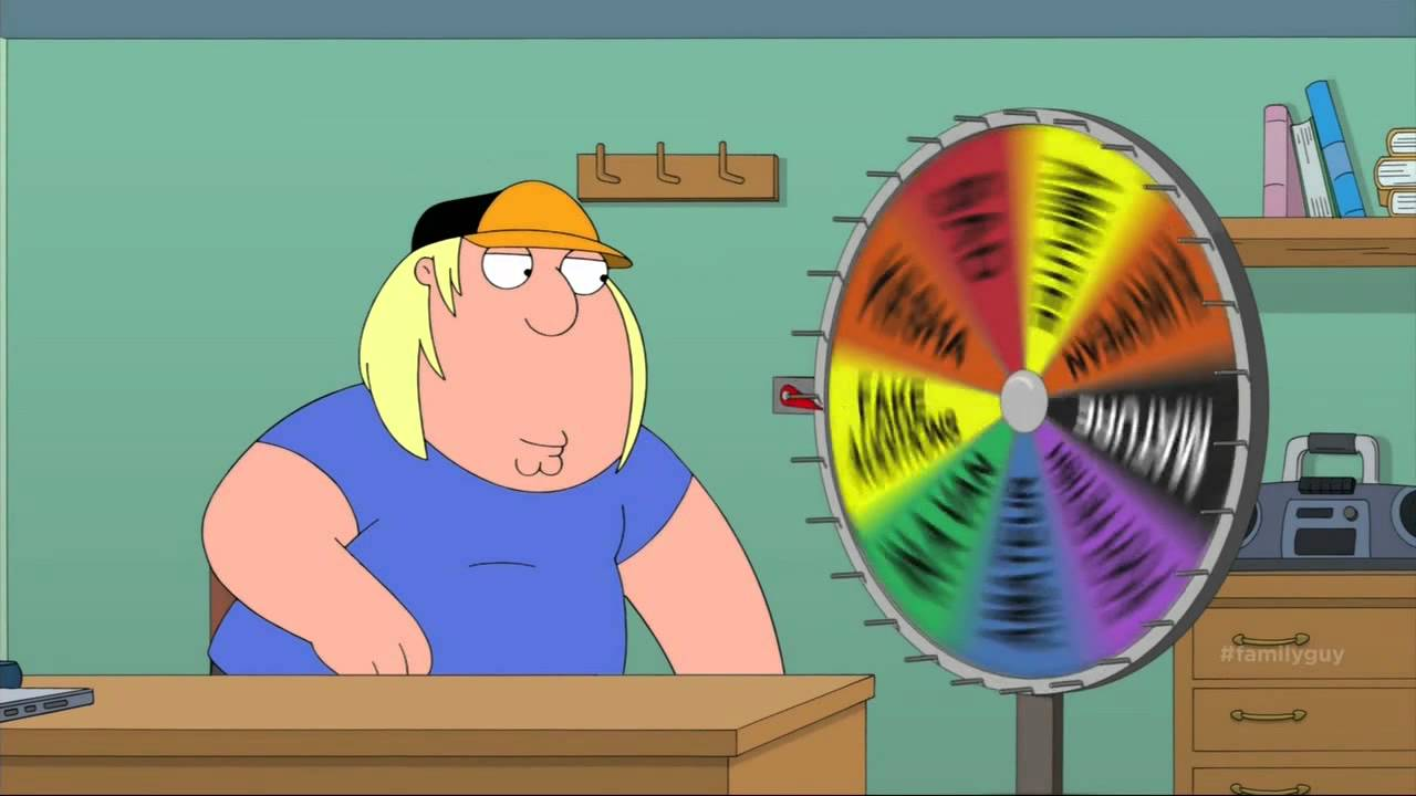 Wheel of porn