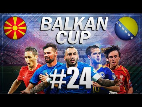FIFA 18 - BALKAN CUP #24 - Bosnia vs Macedonia - Group B