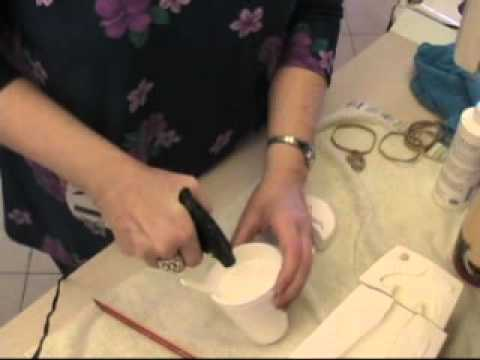 How To Fix A Broken Plaster Mold By White Gothic Studios