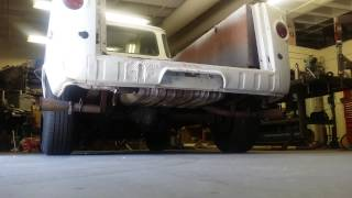1967 Ford Econoline Pickup Truck 302 Exhaust