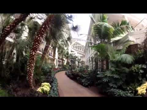 Opryland Hotel Nashville Tennessee GRAND TOUR  long version