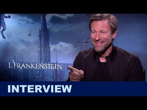 I Frankenstein Interview : Aaron Eckhart 2014 - Beyond The Trailer