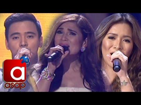 ASAP London: Angeline, Erik & Vina sing ABS-CBN Teleserye Theme Songs