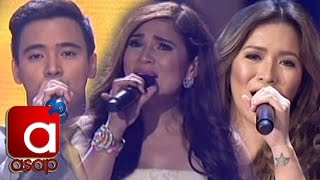ASAP London: Angeline, Erik & Vina sing ABS-CBN Teleserye Theme Songs