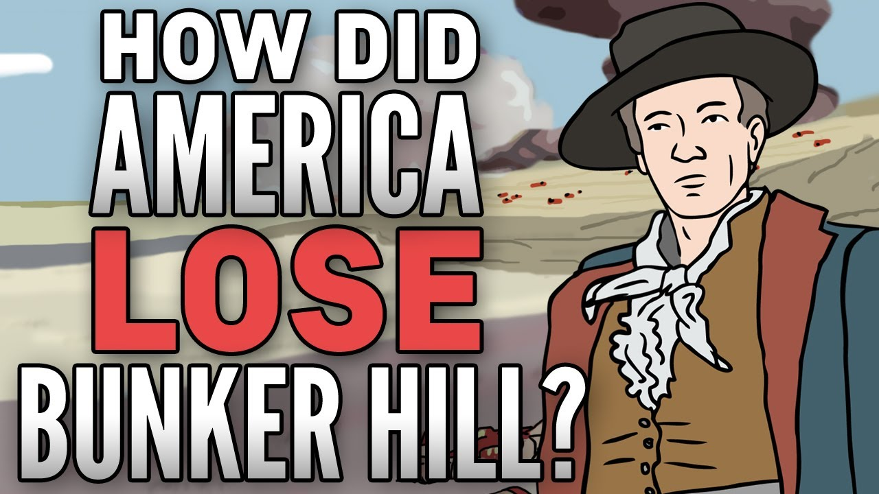 Battle Of Bunker Hill Animated History Youtube