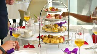 Choix afternoon tea ( Dubai Food Festival)