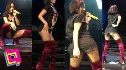 Becky G se descontrola sexi cantando en vivo 'Mayores' ft Bad Bunny