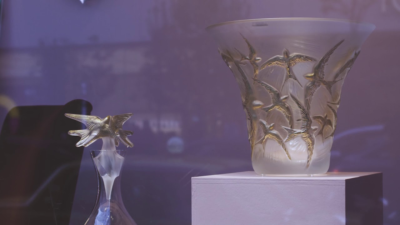 LALIQUE WINDOW DISPLAY at Isetan Shinjuku (short ver.)