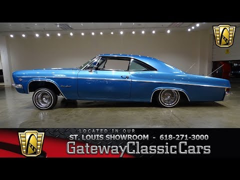 #7503 1966 Chevrolet Impala - Gateway Classic Cars of St. Louis
