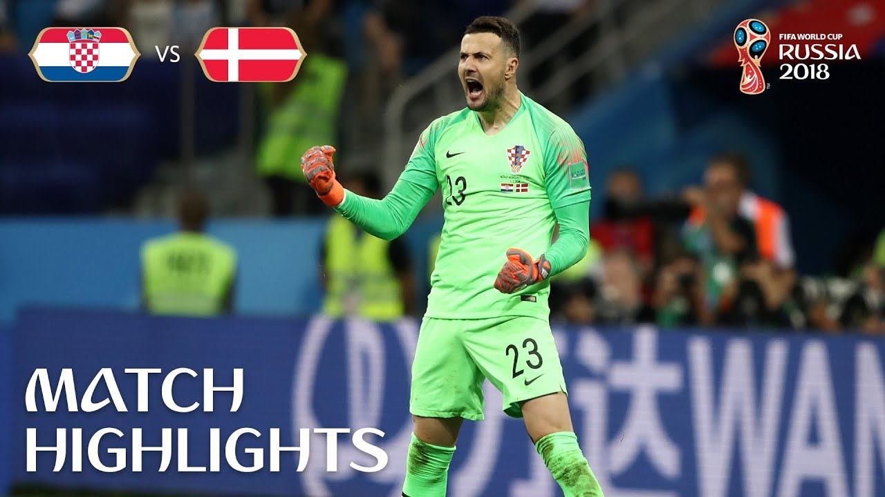 Croatia vs. Denmark final score, recap: Subasic the hero, Rakitic scores ...