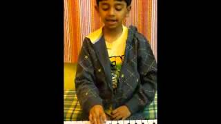 "Atul Shatavart plays ""Vijayi Viswa Tiranga Pyara"" on keyboard"