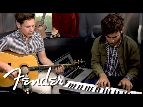 "St. Lucia Performs ""Elevate"" on Fender Airstream 