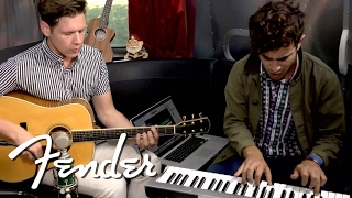 "St. Lucia Performs ""Elevate"" on Fender Airstream"