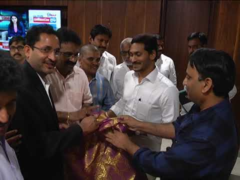 NATA CONVENTION 2020 MEMBERS MET AP CM AT ASSEMBLY ON 15072019