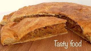 Пирог с Капустой Простой и ОЧЕНЬ Вкусный Рецепт!