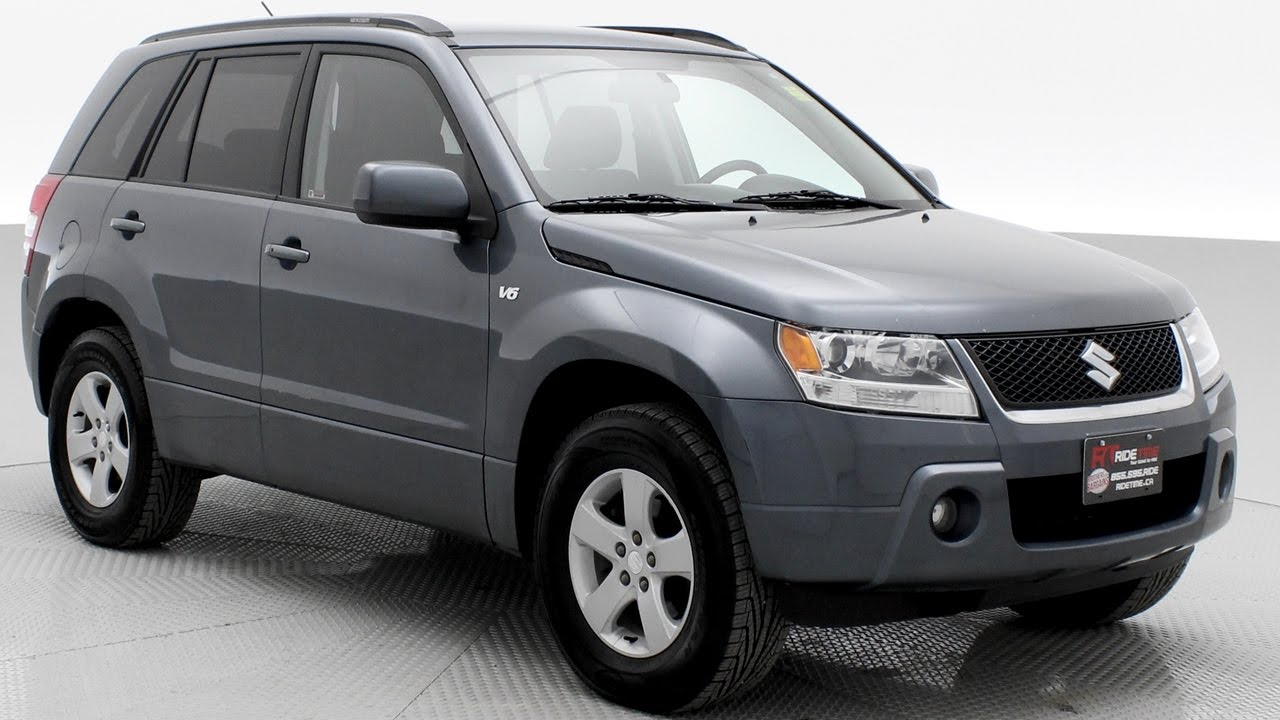 2007 Suzuki Grand Vitara Jx Best 4wd Suv For 6k Ridetime Ca