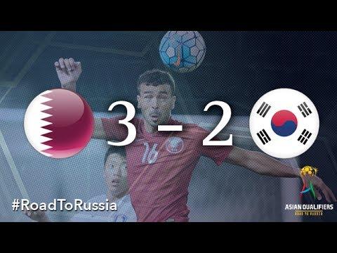 Qatar vs Korea Republic (2018 FIFA World Cup Qualifiers)
