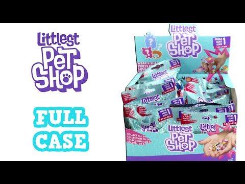 Littlest Pet Shop Series 1 Blind Bag Full Case Unboxing LPS Teensy Pets Opening Entire Case