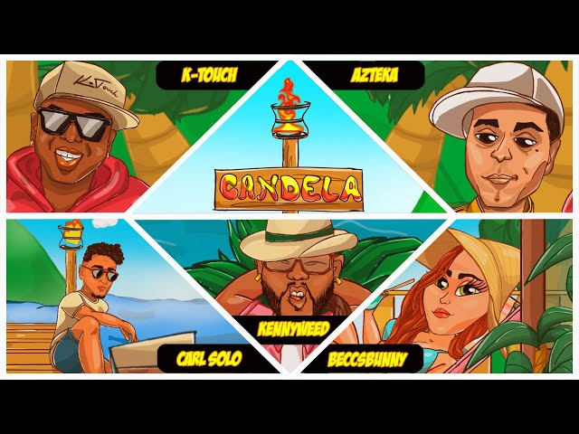 BeccsBunny, Carl Solo, KennyWeed & Azteka - CANDELA (K-Touch Project) (Official Music Video)