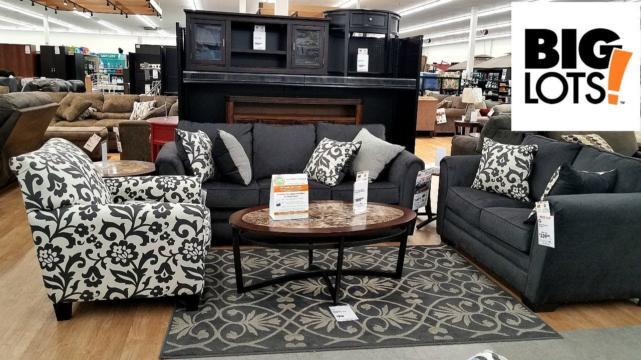 Shop WITH ME BIG LOTS FURNITURE HOME IDEAS ROOM IDEAS WALK THROUGH APRIL  6