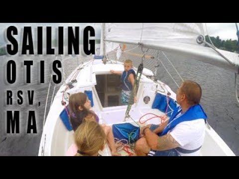 Sailing With Kids (Otis Reservoir, MA)