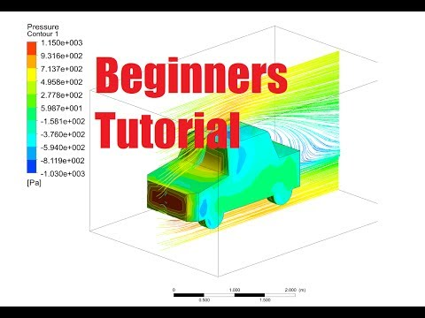 ANSYS CFX - Vehicle Dynamics - Simple Tutorial