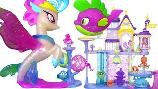 My Little Pony the Movie 2017 Май Литл Пони Мультик MLP Игрушки #Мультики Seaquestria Castle