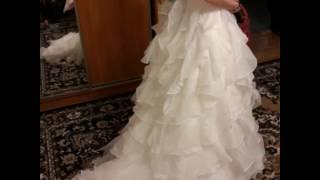 Продам новое свадебное платье производство США  46 и 48 размеры.