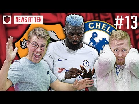 CHELSEA HUMILIATED 3-0 BY ROMA: DISCONTENT UNDER CONTE? | NEWS AT TEN #13