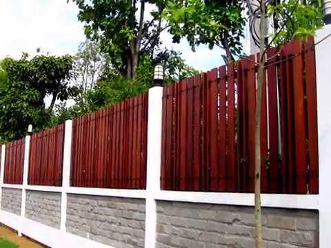 ประตูรั้วเหล็กผสมไม้ ประตูรั้วเหล็ก www.meedesigns.com