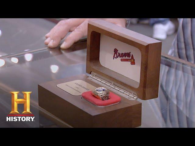 Pawn Stars: 1995 Atlanta Braves World Series Ring (Season 6) | History