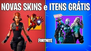 FORTNITE-AVENGERS SKINS, STYLES and FREE ITEMS, NEW CHALLENGES! -Patch 8.5
