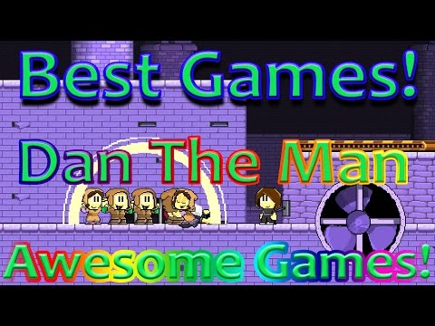 Best games: Dan The Man Stage 8-3-3 (Awesome games)